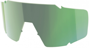 Scott Shield Replacement Glas - Green Chrome