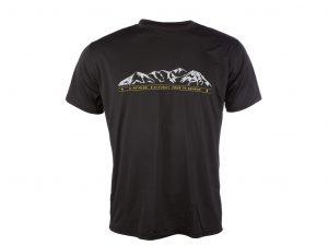 Sensor T-shirt MOUNTAINS korte ærmer PT Coolmax Fresh Sort Str. M
