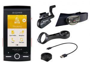 Sigma ROX 12.0 Sport Bundle - Cykelcomputer med GPS - Hvid