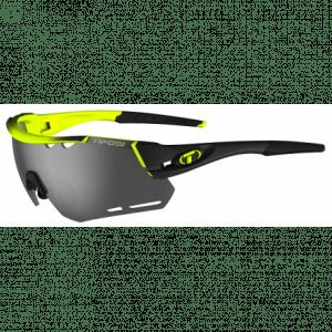 Tifosi Alliant race neon cykelbrille med Smoke/rød/klar linser