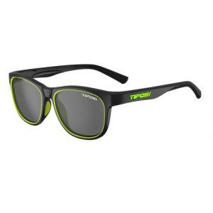 Tifosi Swank Satin Black/Neon, Smoke cykelbriller