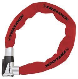 Trelock BC-515 85 cm/ 8 mm Rød Forsikringsgodkendt