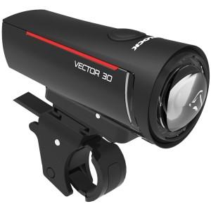 Trelock LS 300 I-Go Vector Genopladelig Forlygte