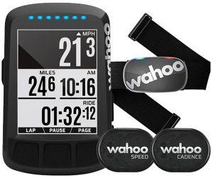 """Wahoo ELEMNT BOLT Cykelcomputer """"Stealth"""" + Tickr Gen 2 + Speed/Cadence"""