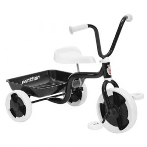 Winther trehjulet cykel - Sort