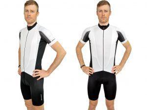Xtreme X-Rapid Cykeltrøje Hr. - Str. S - Hvid