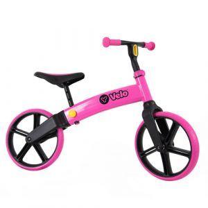 Y-Volution løbecykel - Velo Senior - Pink