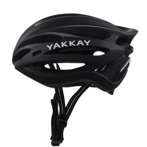 Yakkay Light One Black - cykelhjelm