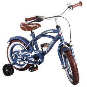 """Yipeeh 12"""" drengecykel - Blå"""