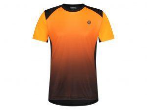 AGU - Cykeltrøje med korte ærmer - Loose fit - MTB - Neon Orange - Str. XL