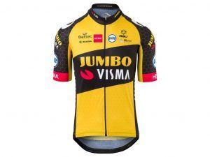 AGU Jumbo Visma Replica - Cykeltrøje med korte ærmer - Str. S