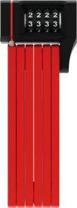 Abus Bordo 5700 Combo uGrip foldelås - Rød