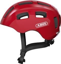 Abus Youn-I 2.0 Hjelm m. LED lys - Rød