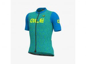 Alé Solid Cross - Cykeltrøje m. korte ærmer - Str. M - Blå
