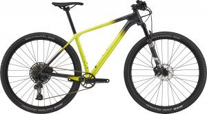 Cannondale 29 F-Si Carbon 5 2021 - Sort/Gul