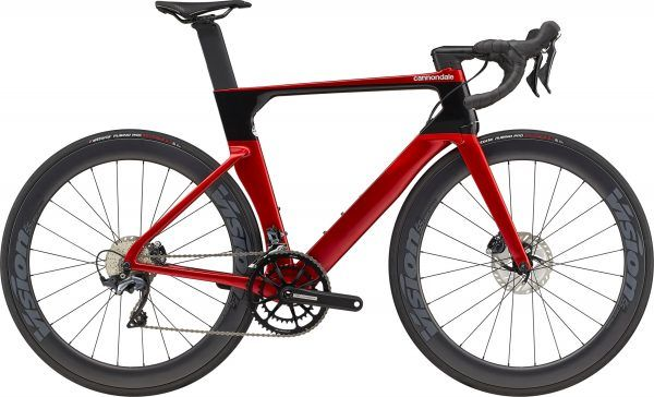 Cannondale SystemSix Carbon Ultegra 2022 - Rød