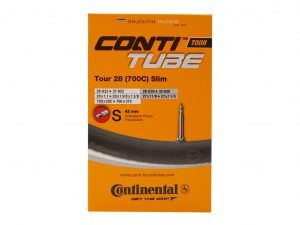 Continental Tour 28 Slim - Cykelslange - Str. 700x28-35c - 42 mm racerventil