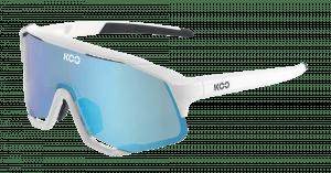 KOO Demos Cykelbriller - Hvid/blå