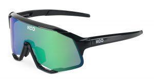 KOO Demos Cykelbriller - Sort/Grøn