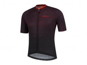 Rogelli Weave - Cykeltrøje - Korte ærmer - Sort/Rød - Str. 2XL