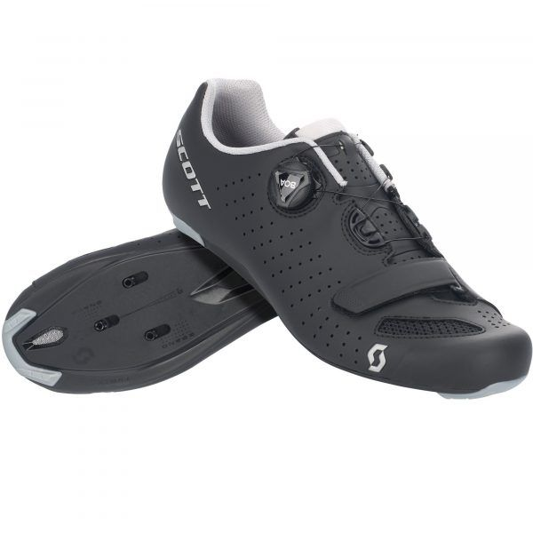 Scott Road Comp Boa Cykelsko - Black/Silver