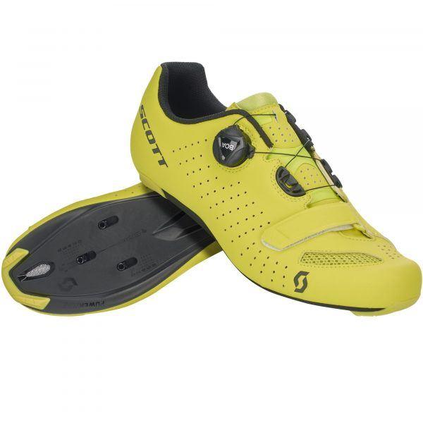 Scott Road Comp Boa Cykelsko - Yellow/Black