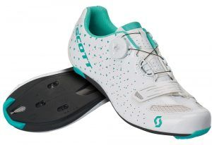 Scott Road Comp Boa Lady '20, Dame Cykelsko, White/Turquoise