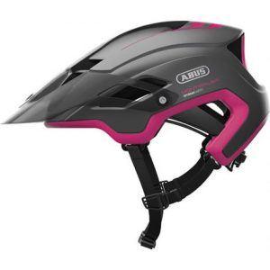 Abus Fuchsia pink Montrailer cykelhjelm fra Abus
