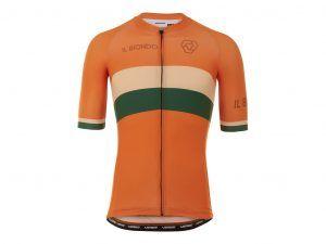 Il Biondo Road Warrier - Cykeltrøje - Strike 2.0 Touring - Herre - Toscany Orange - S