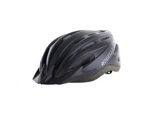 Rogelli Ferox - Cykelhjelm med skygge - Sort - Str. 58-62 cm
