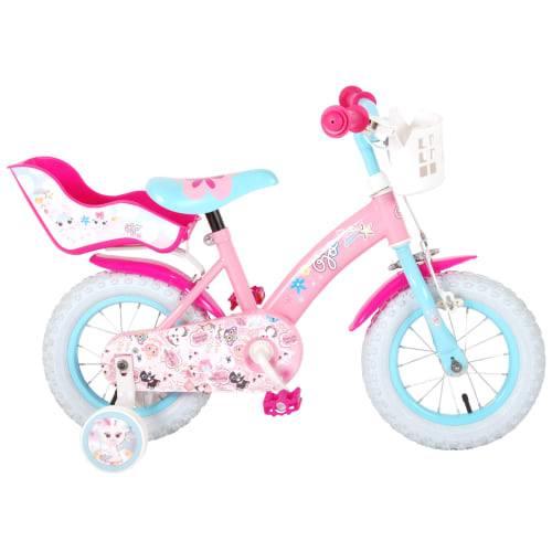"Volare Ojo 12"" pigecykel - Pink"