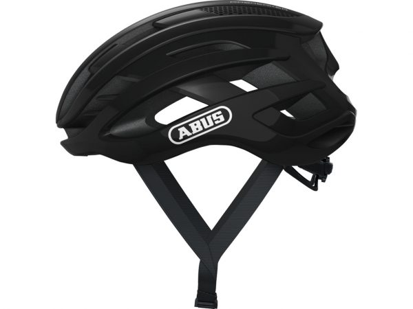 Abus AirBreaker - Cykelhjelm - Shiny black - Str. S