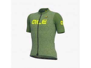 Alé Solid Cross - Cykeltrøje m. korte ærmer - Str. M - Grøn