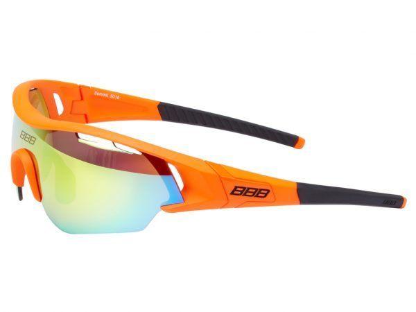 BBB - Løbe- og cykelbrille Summit - 3 sæt linser - Matorange