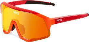 KOO Demos Cykelbriller - Orange/Rød