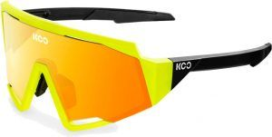 KOO Spectro Cykelbriller - Gul/Rød