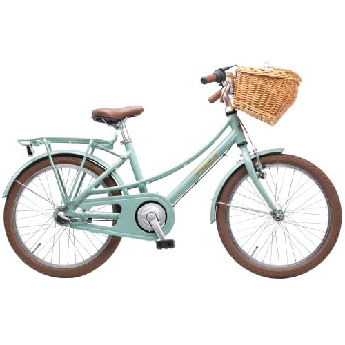 """Mustang Ingrid 20"""" pigecykel med 3 gear - Tosca green"""
