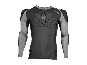 TSG Tahoe Pro A 2.0 - MTB trøje med beskyttere - Sort - Str. XS