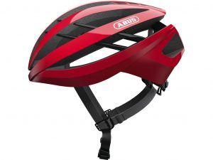Abus Aventor - Cykelhjelm - Racing red - Str. S