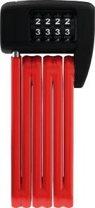Abus Foldelås 6055 Bordo Lite Mini Combo - Rød