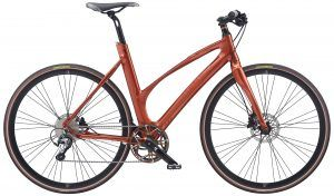 Avenue Airbase Dame 10 Gear Tiagra Skivebremse - Shiny Burnt Red 2020