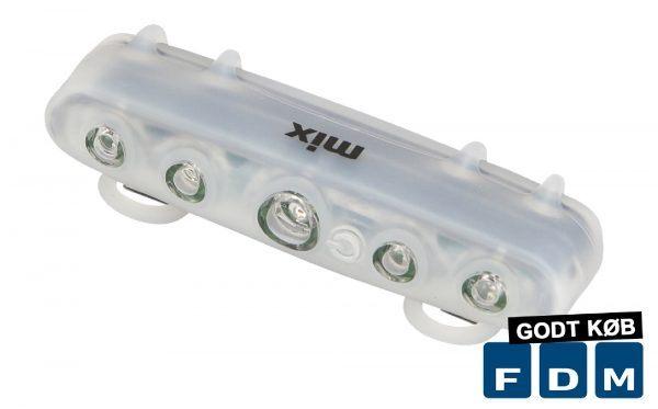 Baglygte Mixbike m/5Led & Batteri