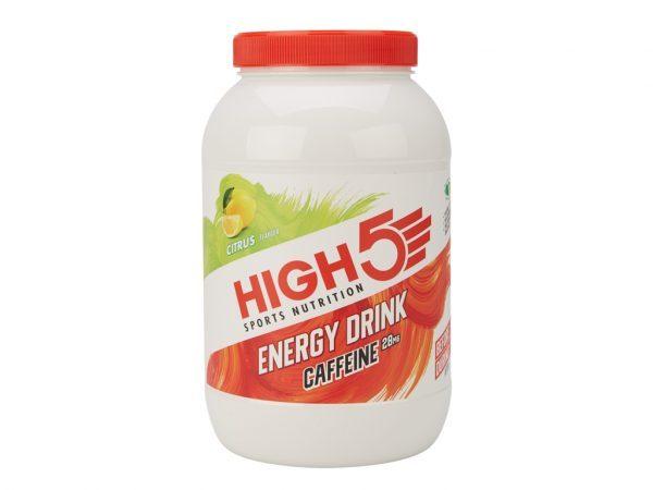 High5 Energy Source Plus - Energidrik med koffein - Citrus 2,2 kg - Testvinder