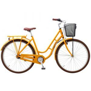 "Mustang Dagmar 28"" damecykel med 7 gear - Orange"