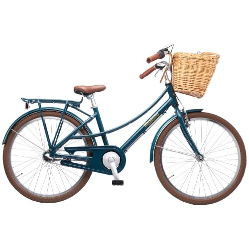 """Mustang Ingrid 24"""" pigecykel med 3 gear - Tapestry"""