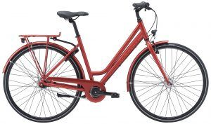 Winther Red 1 Dame 7 Gear - Rød