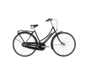 Winther Tourist De Luxe Dame 3 gear - Sort 2020