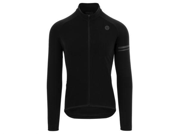 AGU Essential Thermo Jersey - Cykeltrøje L/Æ - Sort - Str. M