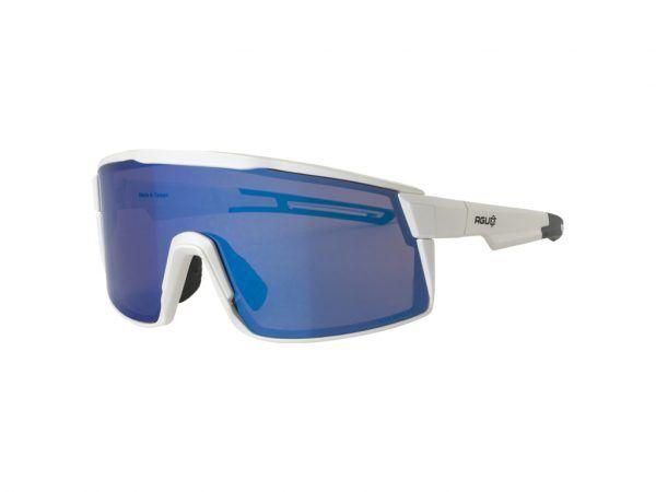 AGU - Verve - Sports- og Cykelbrille - 3 sæt linser - Mat Hvid