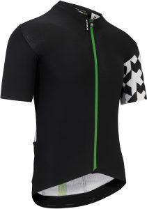 Assos Cykeltrøje Equipe Aero SS Jersey, Black/Green